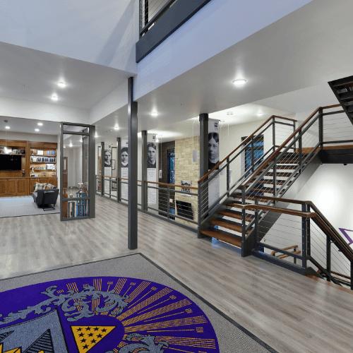 Sigma Pi Alpha Iota Chapter foyer