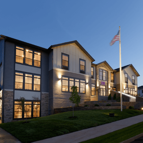 Sigma Pi Alpha Iota Chapter house exterior