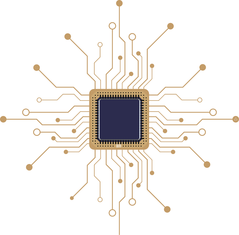 Sigma Pi Alpha Iota Chapter microchip background