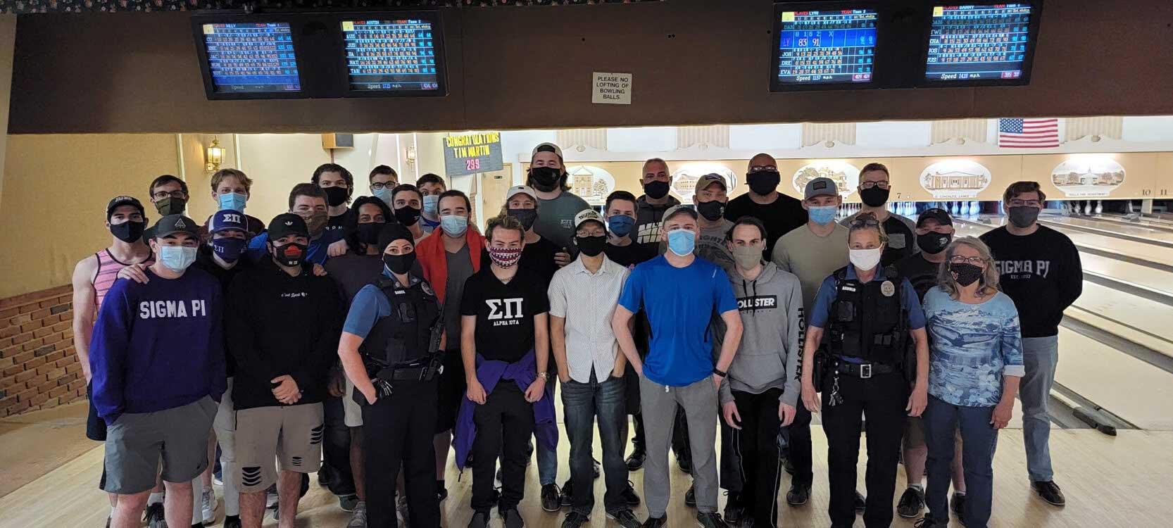 Sigma Pi Alpha Iota Chapter bowling