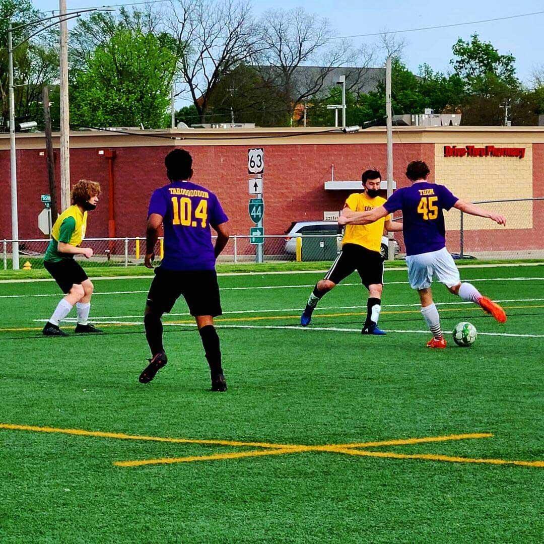 Sigma Pi Alpha Iota Chapter soccer